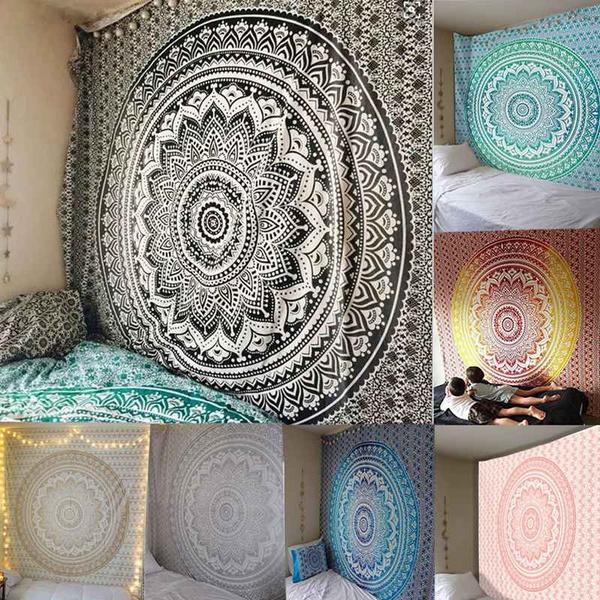 mandalatapestry, Sports & Outdoors, walldecorative, Blanket