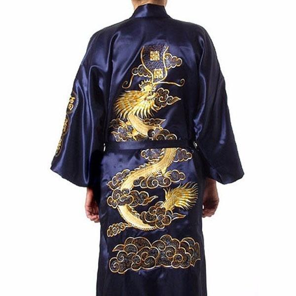 Chinese, sleepwearmen, Men, Nightgown