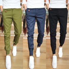 Men, Fitness, pants, slim