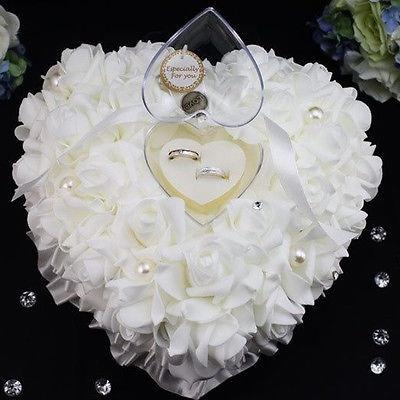 Box, Heart, ringpillow, wedding ring