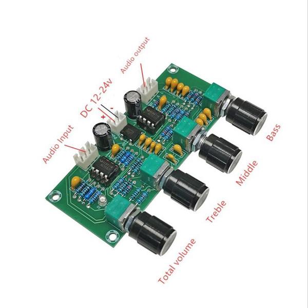 preamplifierboarddiy, amplifierboard, Bass, Amplifier