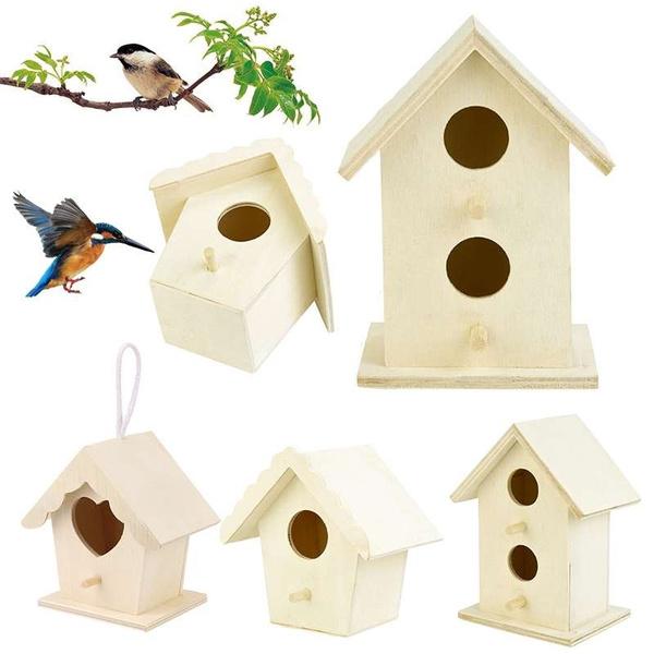 Box, Mini, Garden, woodenbirdhouse