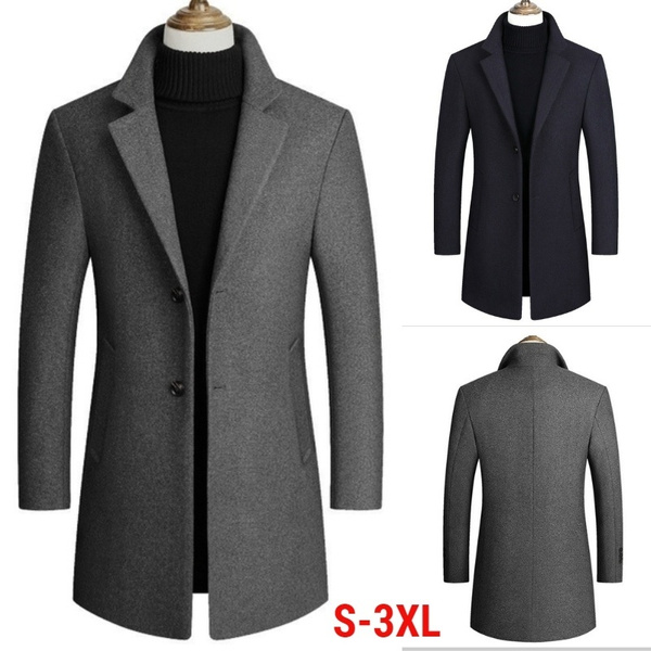 casual coat, collar slim, warmjacket, Spring/Autumn