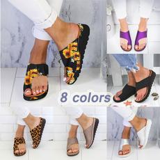 wedge, Flip Flops, Sandals, womenslippe