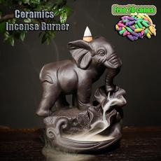 Decor, Ceramic, ceramiccenser, incensecenser