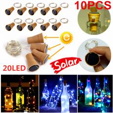Mini, fairylight, partydecor, bottlelamp