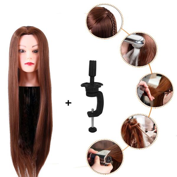 Head, hairdressertraininghead, doll, headmodel