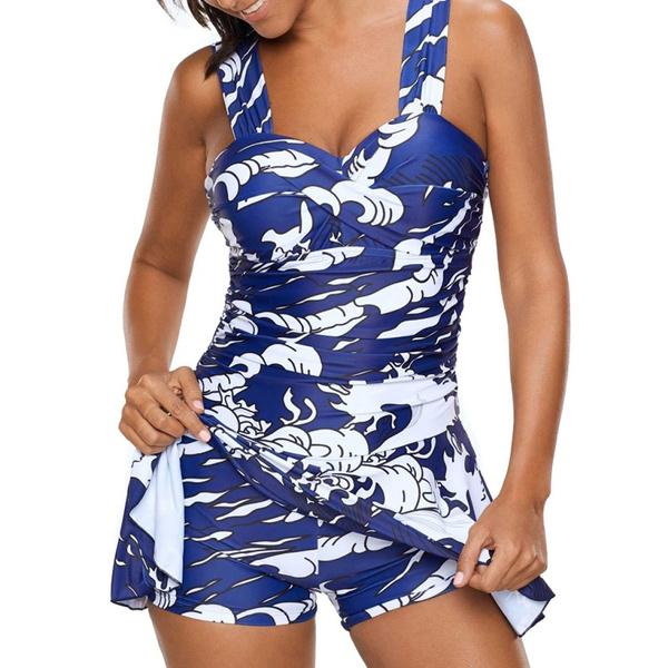 Fashion, printedpatternswimwear, padded, Women's Fashion