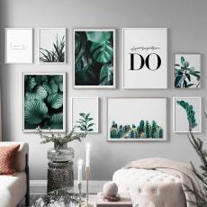watercolor, Plants, art, canvaspainting