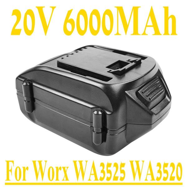 worxbattery, worxtoolbattery, worxwa3525battery, wa3520
