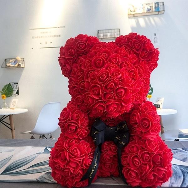valentinedaygift, eternalflowerrose, Wedding Accessories, rosebear