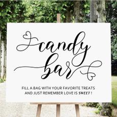 weddingcandysign, minimalist, Decor, Love