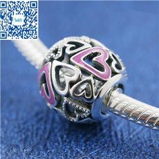 Charm Bracelet, Sterling, Jewelry, Heart