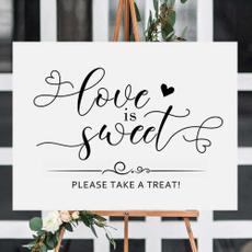 weddingcandysign, Shower, Love, Food