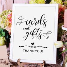 Gifts, cardsandgiftsweddingsign, bridalshowersign, babyshowersign