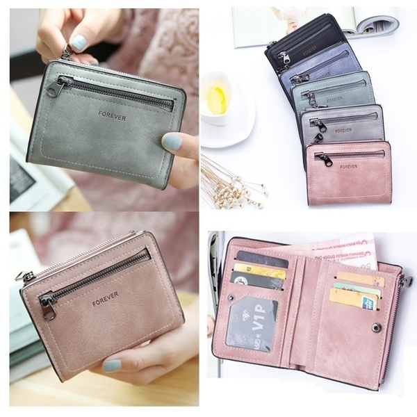 leather wallet, Shorts, leather purse, puwallet