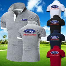 fordtshirt, Fashion, Polo T-Shirts, slim