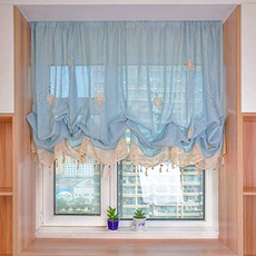 Fashion, Home Decor, curtainswindowtreatment, adjustabletieupcurtain