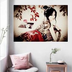 tattoo, girlsbabestattooposter, art, Home Decor