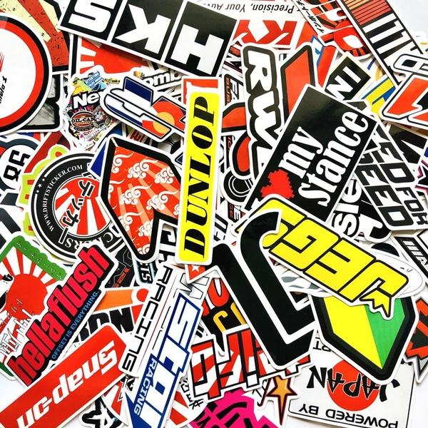 Car Sticker, Laptop, Bicycle, phonesticker