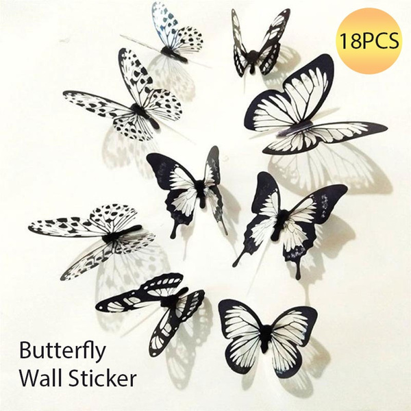 butterfly, Wall Art, Home Decor, Stickers