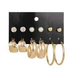 Summer, Jewelry, earrings6set, bigringearring