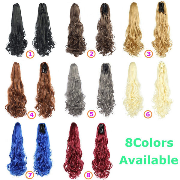 clawclip, Hairpieces, pony, clipin
