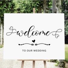 weddingsign, rusticwelcometoourweddingsign, Decor, weddingstationery