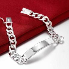 Sterling, Silver Bracelet, Sterling Silver Jewelry, Fashion