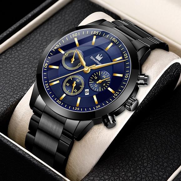 quartz, business watch, Waterproof, Stainless Steel