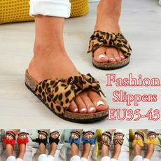 Summer, Slip-On, Women Sandals, Flats