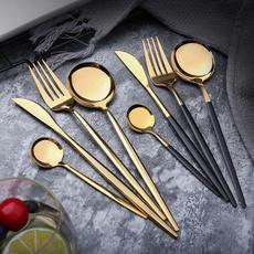 Forks, Steel, mealspoon, Stainless Steel