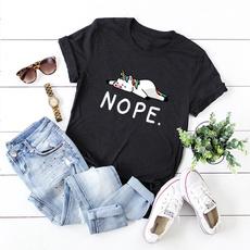 Summer, womens top, Cotton, Casual T-Shirt