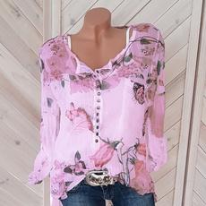blouse, Summer, Tops & Blouses, Shirt