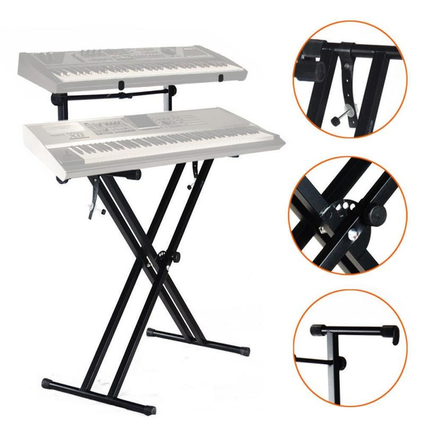 electricorganholder, musicstand, musictool, doublebraced