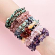 Fashion, Yoga, amethyestbracelet, rosequartzbracelet