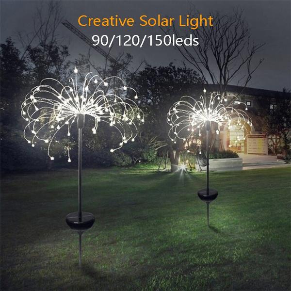 Outdoor, fireworklight, creativelamp, solarlightsoutdoor