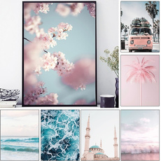 landscapecanvasprint, art, canvaspainting, cherryblossom