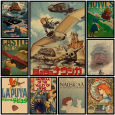 brown, miyazaki, Posters, Stickers