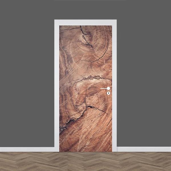Wood, doorstciker, Door, Home Decor