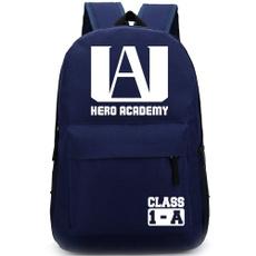 student backpacks, School, myheroacademia, Canvas