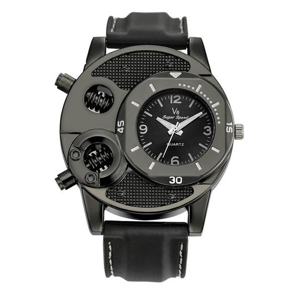 quartz, Silicone, Watch, Accessory
