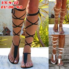 Summer, Sandals, Lace, crossstrap