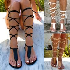 Zapatos, beach shoes, Sandalias, gladiatorsandalia