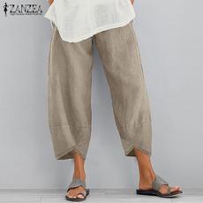 Women Pants, summertrouser, hose, widelegspant