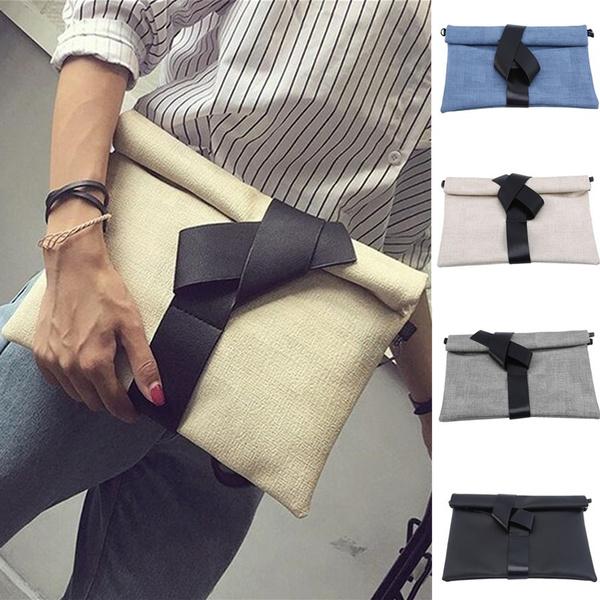 envelopeshoulderbag, Simple, Clutch, clutch bag