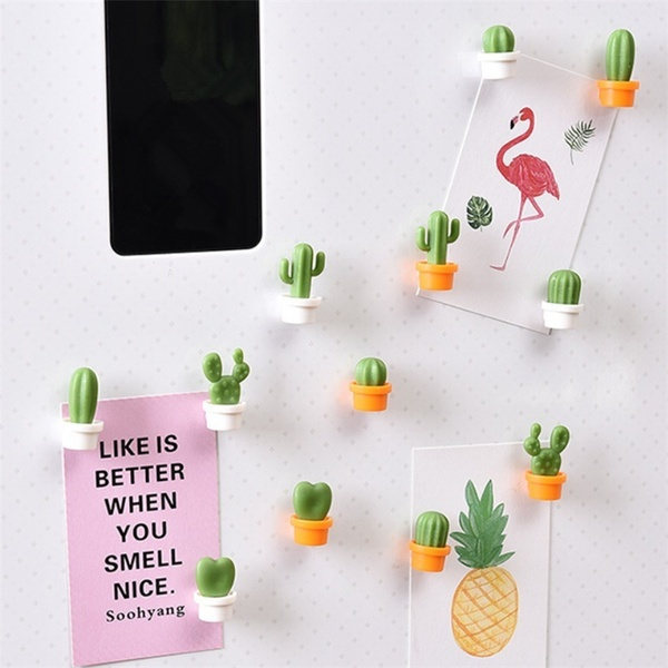 Magnet, Plants, cactu, Home Decor