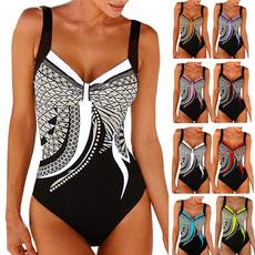 bathing suit, Plus Size, Summer, onepiece