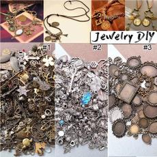 Antique, crystal pendant, Metal, Vintage & Antique Jewelry