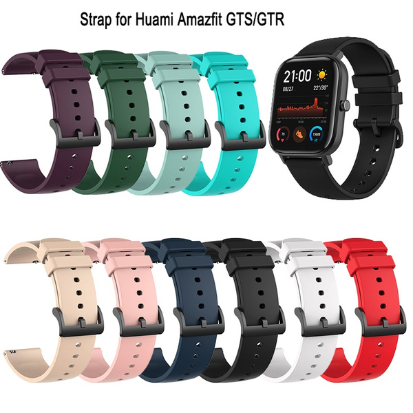 xiaomihuamiwatchband, siliconewatchband, smartwatchstrap, Silicone